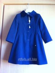 Coat blue for the girl