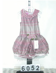 Dress children's in section (6052)