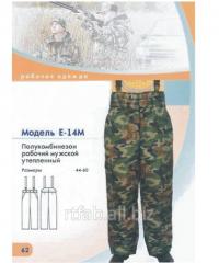 Semi-overalls the working man's warmed E-14M