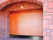 ROLLETNY GARAGE GATE
