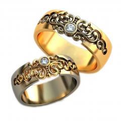 Обручальное кольцо 0201730