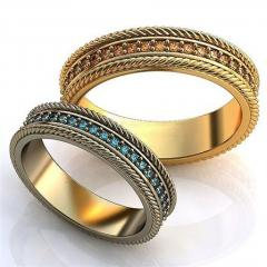 Обручальное кольцо 0201630