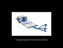 The cart garden for transportation of the containers TTK-3