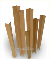 Corners are cardboard protective