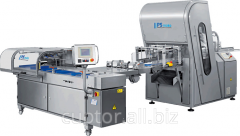 Equipment for cutting and packaging of the bakery