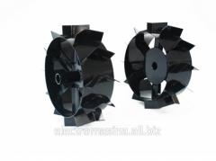 Wheels (small) metal from gruntozatsepa