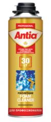 Spray for clarification of polyurethane Antia foam
