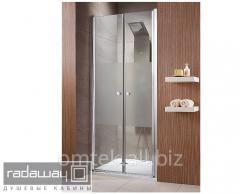 Doors in a shower cabin