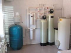 Systems of water purification for apartments and