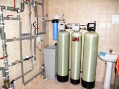 Системы очистки воды для коттеджей и загородных