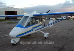 Сверхлегкий самолет типа BECASX-32-912