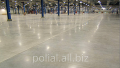 The polished concrete