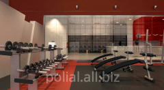 Coverings for fitness studios