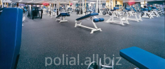 Coverings are sports polyurethane