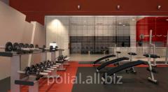Floors for gyms