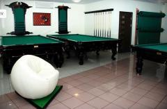 Billiard pockets, spheres and other billiard