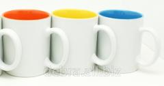 Mug sublimation (blue, yellow, red)