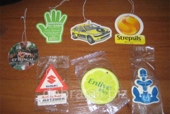 Air freshener with use of symbolics