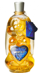 White wine Hare of Muscat of 0,75 l