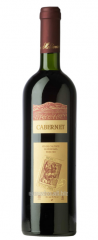Dry wine red Reserve Wine Cabernet of 0,75 l