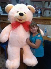 Медведь Веня гигант 1,10см