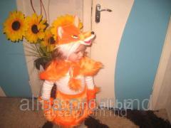 Костюм карнавальный детский Лисичка