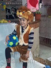 Костюм карнавальный львенок