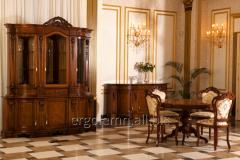 Dining room of Ergolemn of fashions. Savoya