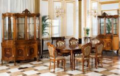Dining room of Ergolemn of fashions. Barocc