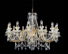 Chandelier crystal suspended Preciosa art AB