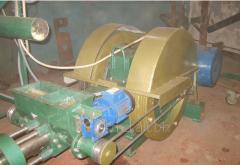 Оборудование для производства топливных брикетов: пресс.