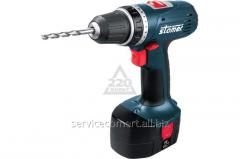 Drill screw gun Accumulator Stomer Sad-18nx2-d