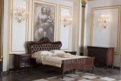 Bed with Firenze pikovka, Ergolemn