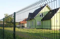 Panou gard euro. Gard metalic bordurat. Garduri de calitate zincat, vopsit. Заборы металлические