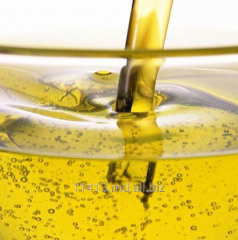 The fulfilled sunflower oil