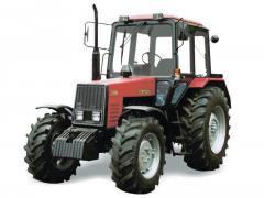 The tractor BELARUS 1025.2