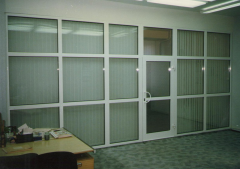 Partition metalplastic for office