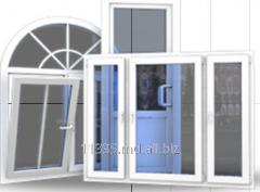 Plastic I-Geam window