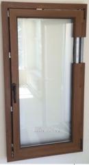 Пластиковое окно орех Inventproiect