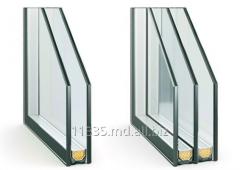 Double-glazed window single-chamber Inventproiec