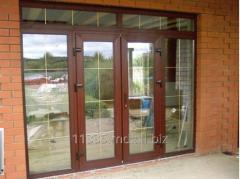 Дверь пластиковая для частных домов Inventproiect