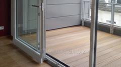 Ușa glisantă cu structuri diferite Inventproiect
