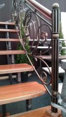 Shod handrail
