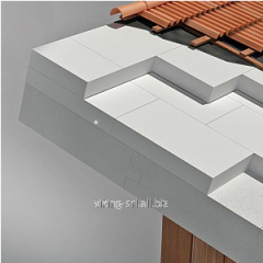 Roofing heater, Heat-insulating plate of Ytong