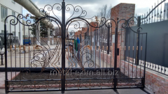 Ворота кованые на заказ