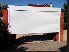 Rolling shutters for garage