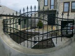 Fences are decorative
