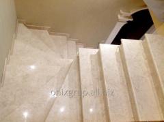 Ladder marble Crema Nova