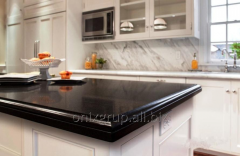 Table-top from Absolute Black granite