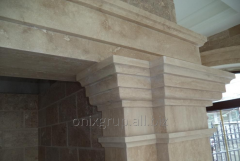 Finishing stone of Travertino Classic
